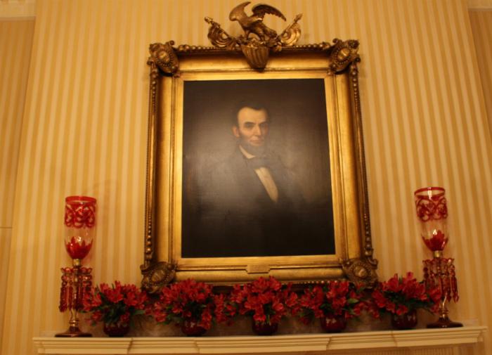 リンカーン大統領の肖像画