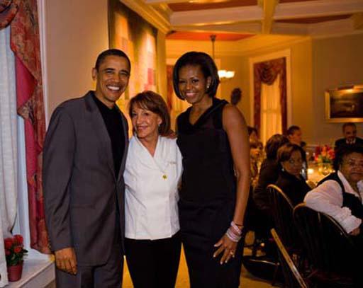 オバマ大統領夫妻とNoraさん