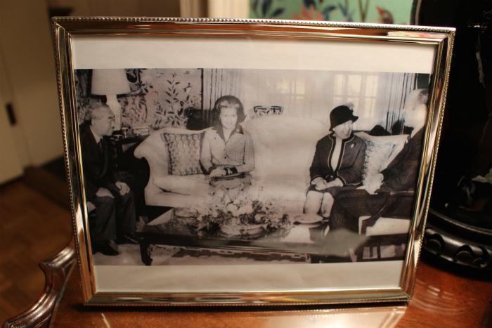 昭和天皇と皇后陛下の写真