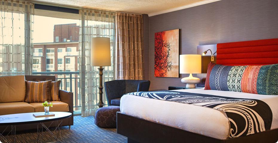 マデラホテルの部屋