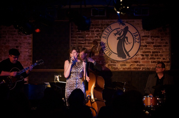 Paulien Van Dijk at Blues Alley in Georgetown.