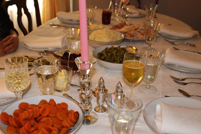 サンクスギビングの食卓