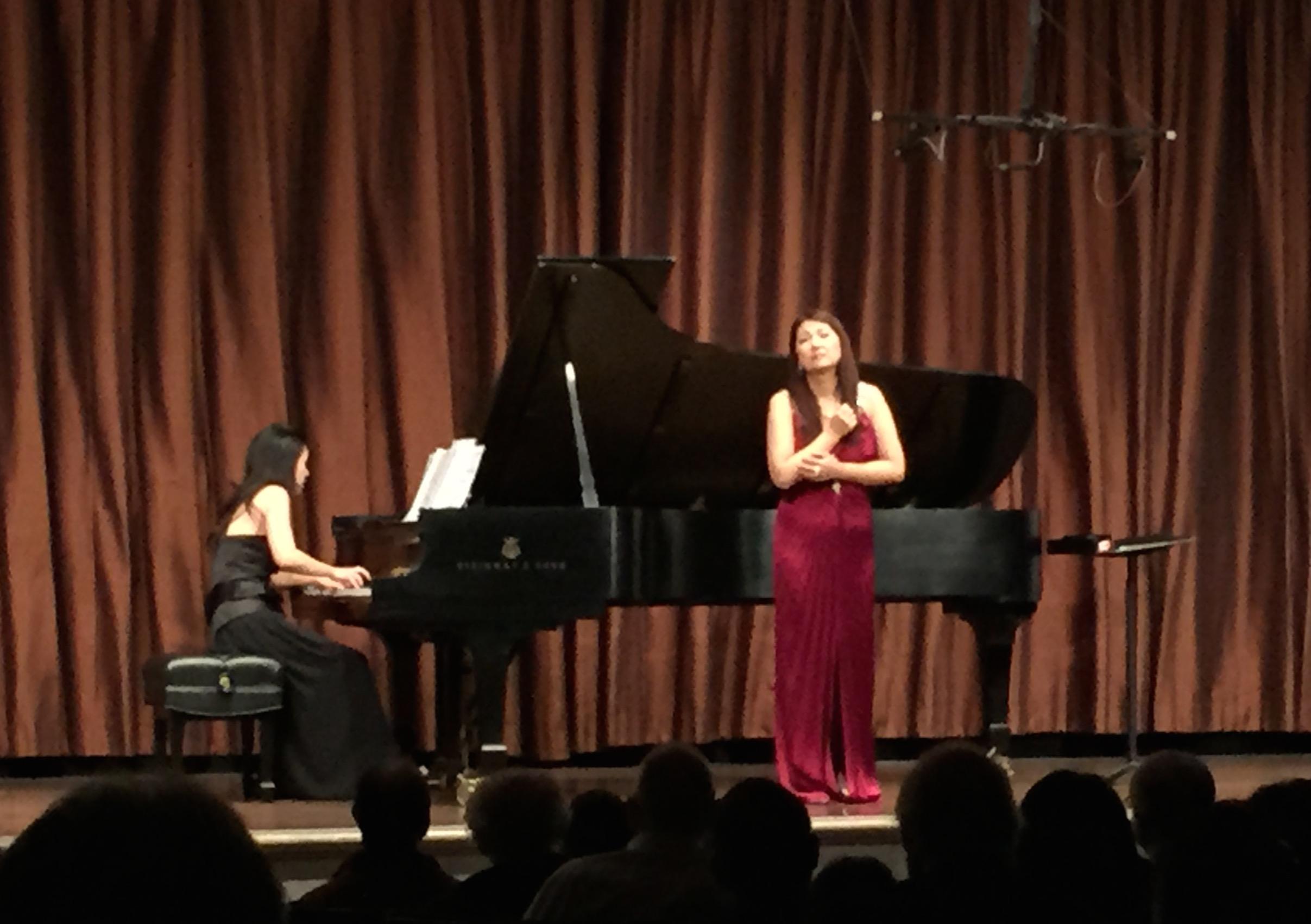田村麻子さんのコンサート
