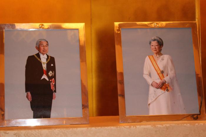 天皇陛下と皇后陛下のお写真
