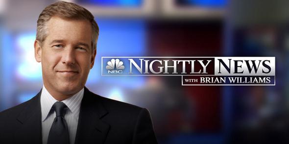 NBCのブライアン・ウィリアムズ