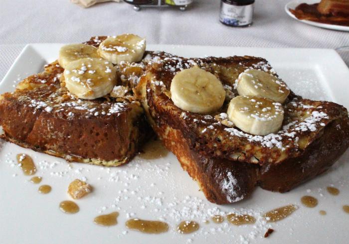 サラマンダーリゾートの朝食のフレンチトースト
