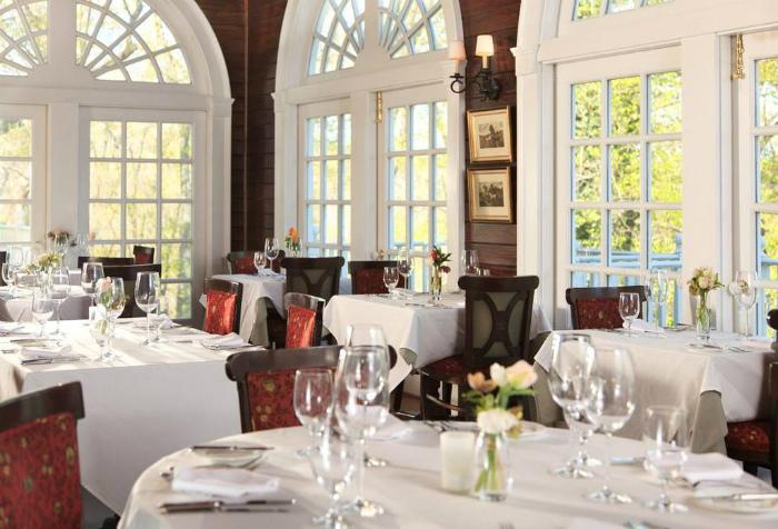 Goodstone Inn & Restaurant店内