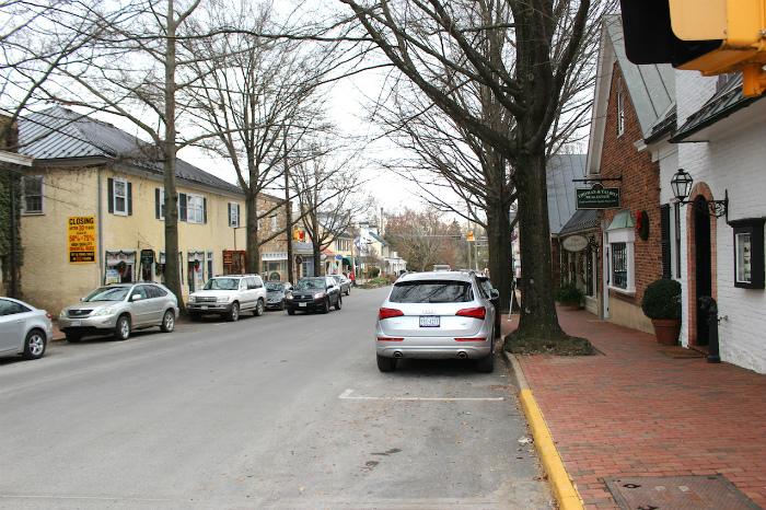 ミドルバーグの町並み