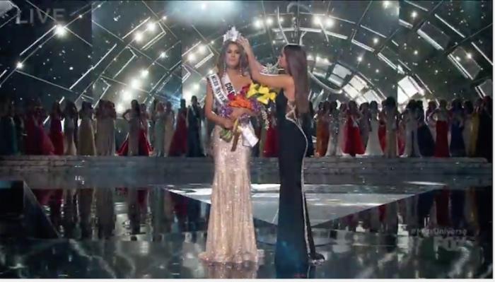 優勝者と間違えて発表されたコロンビア代表