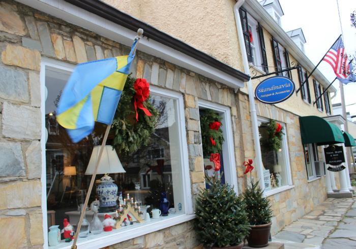 ミドルバーグの北欧の店