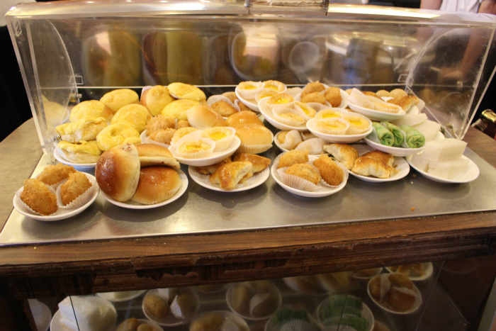 Hong Kong Pearl Seafood飲茶のワゴン