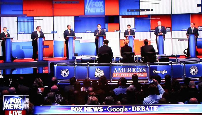 トランプ抜きの共和党の討論会